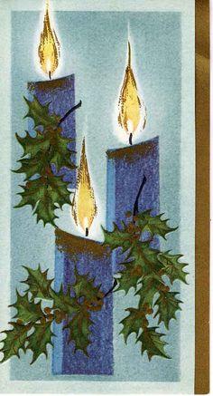 Christmas  {vintage greeting card}   ♺ Kathy H
