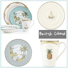british colonial. My dish pattern!