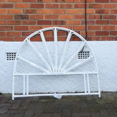 Cane bed head. #placesandgraces #collection #white #cane #bedhead $95 Bedhead, Interior Styling, Chair, Furniture, Collection, Home Decor, Interior Decorating, Decoration Home, Room Decor
