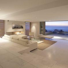 Marvelous room modern home interior design, modern house design, interior a Apartment Interior Design, Interior Balcony, Bathroom Interior, Kitchen Interior, Pent House, Modern Homes, Modern Beach Houses, Modern House Design, Luxury Living