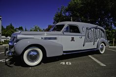 1939 Cadillac Carved-Panel Hearse by dschultz742, via Flickr