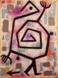 Paul Klee ' Timid Brute'  1938