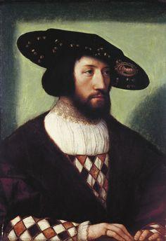 Bernard van Orley - Portrait of Kristian II