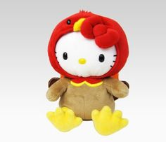 Hello Kitty Thanksgiving turkey plushie