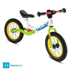 Zielony amortyzowany rowerek biegowy Puky LR Ride posiada lekką aluminiową ramę aluminiowy widelec lekkie opony ponadto Puky LR Ride delikatnie regulowaną na wysokość kierownicę bez blokady kąta skrętu proste w regulacji i precyzyjne stery a-head siodełko (z uchwytem do noszenia) regulowane od 38 cm. Amortyzowana rama hamulec aluminium i jakość Puky gwarantują że rowerek biegowy Puky LR Ride to wyjątkowy rowerek biegowy! #puky #pukylrride #warszawa #aktywnysmyk #polska #rowerekbiegowy Hiit, Tricycle, Motorcycle, Instagram Posts, Ebay, Amazon Fr, Sports, Products, Sport