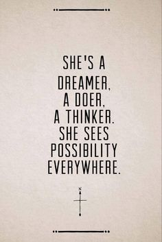 We know you're a dreamer, a doer and a thinker. The possibility is endless and you know that.... Don't you just love being the amazing entrepreneur that you truly are...<3