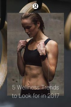 5 Wellness Trends to Look for in 2017— embrace possibility and welcome the new year with intention.