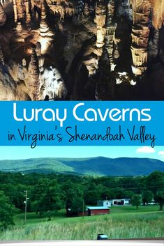Luray Caverns in Virginia's Shenandoah Valley is the perfect fall family travel…