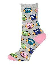 Owl socks!