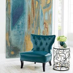 Landscape Indoor Rug = color scheme, note rug hung on wall...