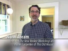 Norm Abram, master carpenter of the PBS series This Old House and host of The New Yankee Workshop, has made eye safety part of his message to viewers for three decades. In this public service announcement produced for the EyeSmart campaign, he reinforces the need for protective eye wear is an important part of any project around the home or in the workshop.