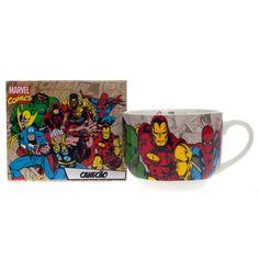 Caneca Heróis Marvel em http://kangurupresentes.com.br/marca-marvel/2/  #KanguruPresentes #Marvel #Canecas