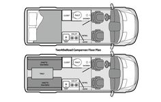 The Two4theRoad floorplan.