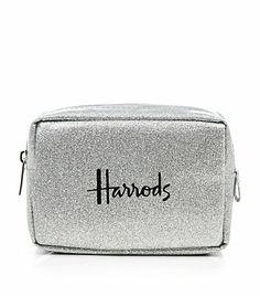 Harrods Glitter Cosmetics Bag