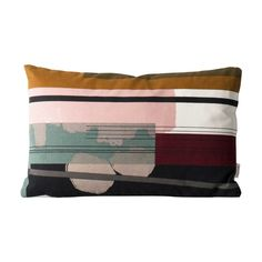 Colour Block - Pillows Ferm Living on YOOX. The best online selection of Pillows Ferm Living. YOOX exclusive items of Italian and international designers - Secure payments Decoration Design, Deco Design, Modern Throw Pillows, Designer Throw Pillows, Duvet, Contemporary Decorative Pillows, Colourful Cushions, Textiles, Burke Decor