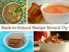 Back to school recipes - from lunchbox ideas to easy dinners!
