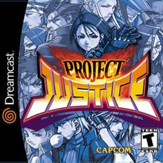 Project Justice for the Sega Dreamcast is now on Sale! Cleaned Tested and Guaranteed to Work. Project Justice for the Sega Dreamcast is now on Sale! Cleaned Tested and Guaranteed to Work. Play Fighting, Fighting Games, Cartoon Network, Playstation, Street Fighter Game, Nintendo, Video Game Music, Sega Dreamcast, Classic Video Games
