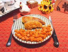 Lust auf ein Low Carb Schnitzel? Dieses Rezept für Low Carb Hähnchen mit Parmesan ist der perfekte Schnitzel-Ersatz und nicht weniger lecker!