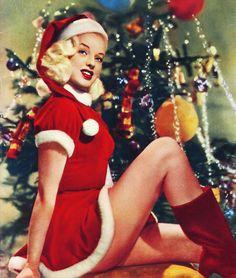 Diana Dors c. 1950's Christmas