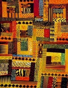 AFRICAN QUILT PATTERN …