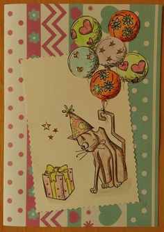 stamps tim holtz cat