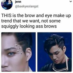 Trend this, let Jongin bring the trend back