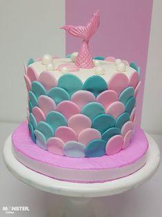 Twin Birthday Cakes, Creative Birthday Cakes, Mermaid Birthday Cakes, Fondant Cakes, Cupcake Cakes, Sirenita Cake, Ocean Cakes, Little Mermaid Cakes, Cake Business