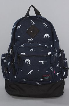 Mishka The Jurassic Knapsack in Dark Navy