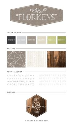 The-Florkens Brand-Board