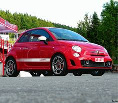 Fiat 500 Abarthed Series. This is my favorite car.