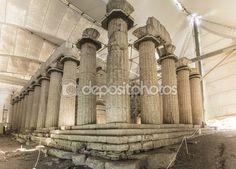 Temple of Apollo Epicurius, Ilia, Greece — Stock Photo © elgreko #58755673