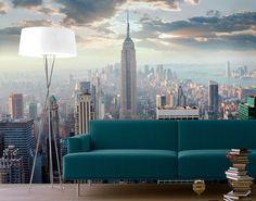 Photo Wall Mural NEW YORK SUNRISE 280x200 Wallpaper Murals Motif XXL Poster USA