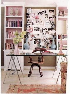 cute office design by Ruthie Sommers