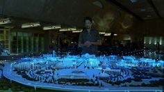 Prologue's design work for fictional interfaces in Iron Man 2