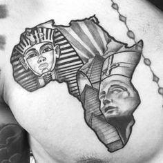 23 best african queen tattoo designs for women images on pinterest rh pinterest com american tattoo designs african tattoo designs tumblr