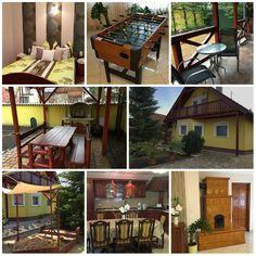 Príma Vendégház Tiszakécske Cabin, House Styles, Outdoor Decor, Home Decor, Decoration Home, Room Decor, Cabins, Cottage, Home Interior Design