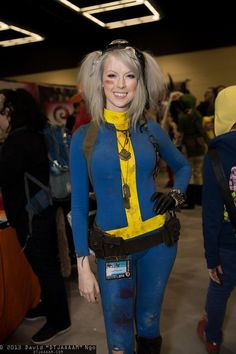 Fallout Cosplay, Epic Cosplay, Amazing Cosplay, Cosplay Outfits, Cosplay Girls, Cosplay Costumes, Cosplay Ideas, Vault Dweller, Dress Up