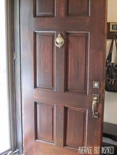 Beau How To Refinish An Exterior Door The Easy Way