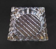 Vintage Art Deco Style Cut Crystal  Glass by VintageByTiffinie