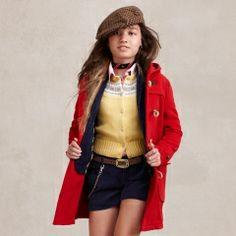 Cute ~Wool Toggle Coat - Girls 7-16 Outerwear & Jackets - RalphLauren.com