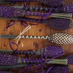 Lavender Wands...love to make these in the spring with all my lavender!