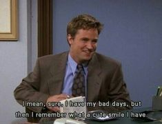 """But, at the end of the day, this is true. 