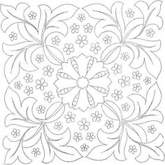 Embroidery pattern 3