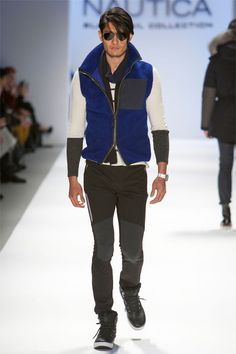 nautica-new-york-fashion-week-fall-2013- #primaryeyecare  #fashioneyewear www.cvilleeyecare.com