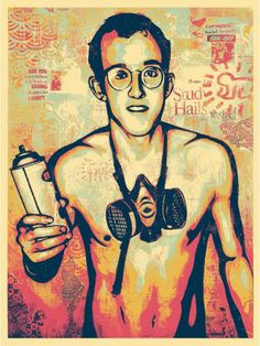 Haring-canvas-poster-2nd-color-way-500x666