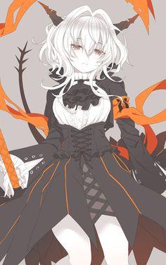 Anime Girl Neko, Anime Art Girl, Manga Anime, Character Concept, Character Art, Character Design, Fantasy Characters, Anime Characters, Schwarz Home