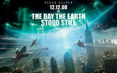 The Day the Earth Stood Still (2008 Remake) starring Keanu Reeves & Jennifer Connelly — terrible movie, great graphic