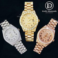 We carry a large collection of Rolex watches... DM US OR Buy on our website 💻 www.exoticdiamondsa.com Call us ☎️ : +1 210 927 7787 We offer Financing and Layaway 36 months interest free financing available... @exoticfreeze @exoticdiamondsa #rolexwatch #rolex #watchesofinstagram #rolexsubmariner #rolexwatches #watches #rolexdatejust #watch #rolexdaytona #watchoftheday #watchfam #rolexaholics #rolexero #watchaddict #watchcollector #rolexlover #rolexwrist #rolexgmtmaster #dailywatch #rolexpass Rolex Gmt Master, Pre Owned Rolex, Grillz, Rolex Daytona, Rolex Submariner, Michael Kors Watch, Custom Jewelry, Rolex Watches, Bracelet Watch