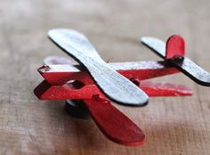 Click pic for 28 Spring Crafts for Kids - Clothespin Airplane | Spring Craft Ideas for Preschoolers