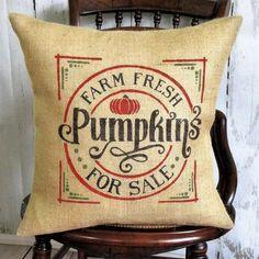 Pillows ~ Fall – Page 2 – Kelley's Collection Fall Pillows, Burlap Pillows, Throw Pillows, Halloween Decorations, Fall Decorations, Burlap Lace, Pumpkin, Collection, Toss Pillows